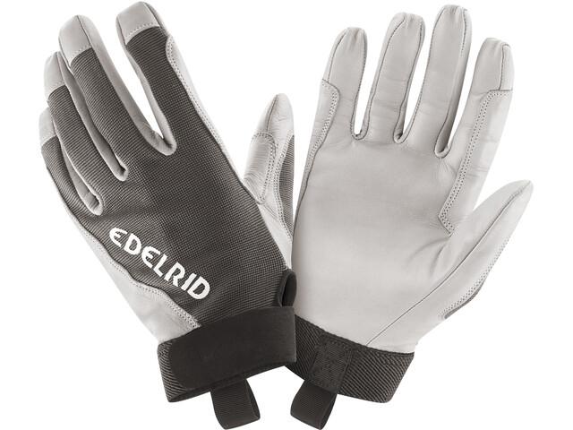Edelrid Skinny II Guantes, blanco/negro